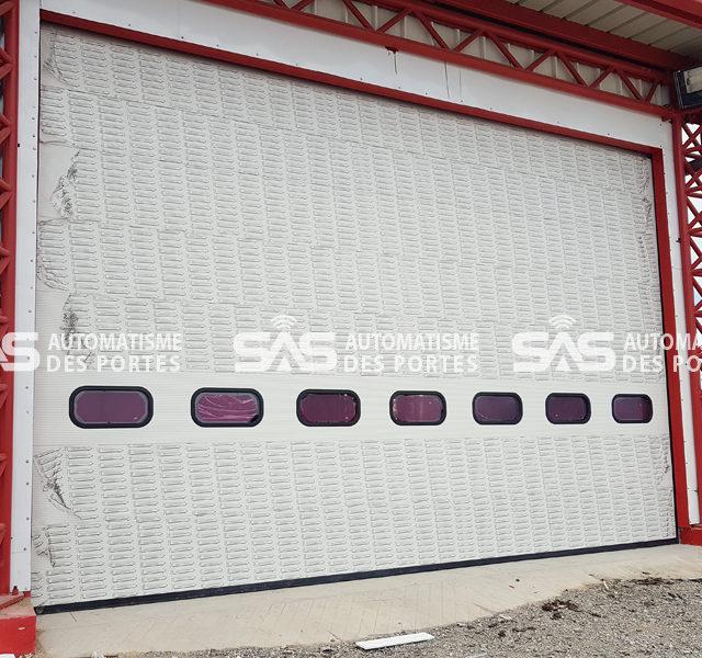 Portes Sectionnelles Industrielles pour Protection Civile