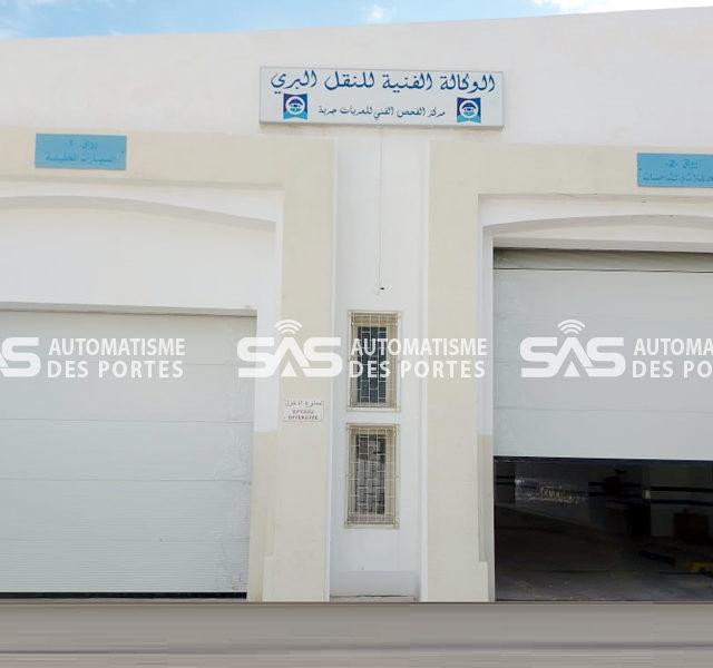 Portes Sectionnelles Industrielles Services des mines